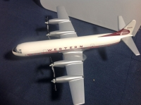 Photo: Western Airlines, Lockheed L188 Electra, N7137C