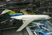 Photo: Air West, Boeing 727-100