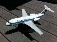 Photo: Aerolineas Argentinas, Fokker F28, LV-ABC