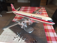 Photo: Air Canada, Vickers Vanguard, CF-TKH