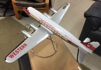 Photo: Western Airlines, Douglas DC-4, N8721