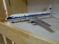 Photo: Lufthansa, IIyushin IL-18, DM-STA